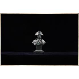 Napoleon Bust in overcoat (bronze-like)