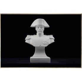 Napoleon Bust dressed in the uniform of an Chasseur à Cheval de la Garde