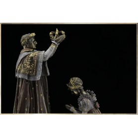 The Coronation of Napoleon (bronze-like)