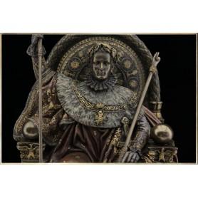 Napoléon sur le Trône Impérial (façon bronze)