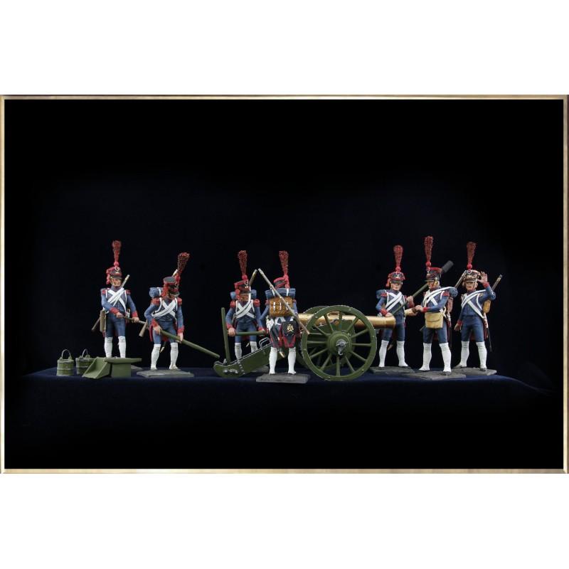 Collection complète de l'Artillerie de la Jeune Garde
