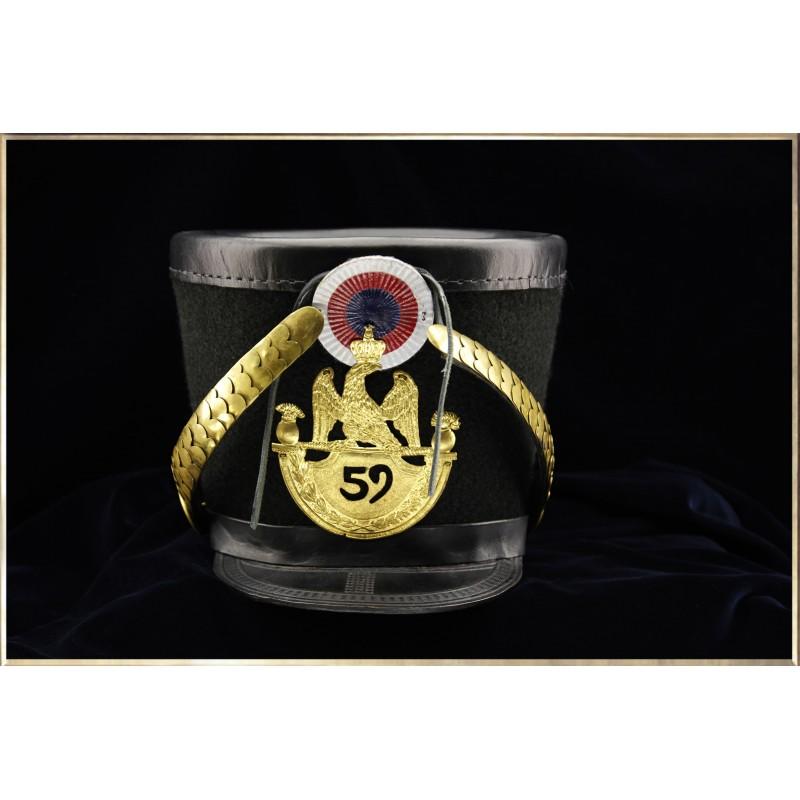 Shako du 52ème Régiment