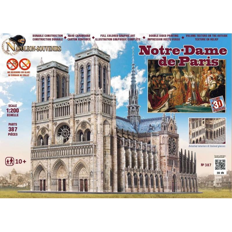 Notre-Dame de Paris 3D model