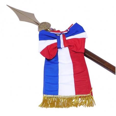 Cravate pour drapeau sur hampe
