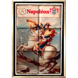 Puzzle Magnet (Napoleon Crossing the Alps)