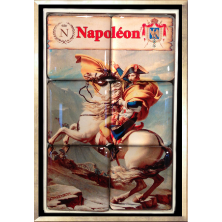 Puzzle Magnet (Napoleon Crossing the Alps)