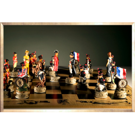 """Wellington & Napoleon"" Chess Board"