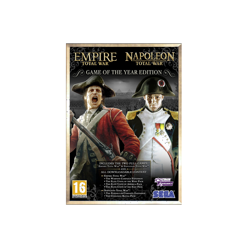 Napoléon & Empire: Total War Édition GOTY