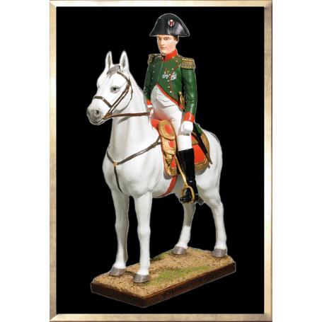 Napoleon on Horseback by Olivier Pichat