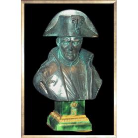 Buste Napoléon par Pinedo (façon bronze)