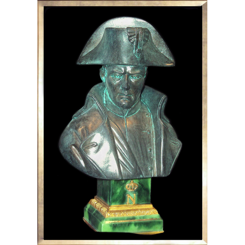 Napoleon Bust by Pinedo (bronze-like)