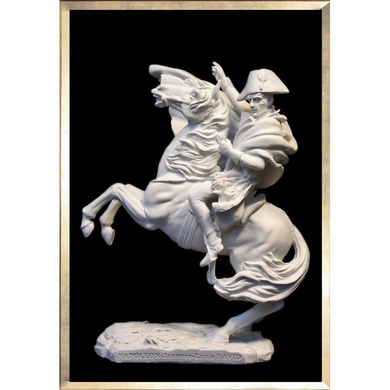 Napoleon on Horseback by David