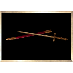 """""""Coronation Dagger with Scabbard"""" Letter Opener"""