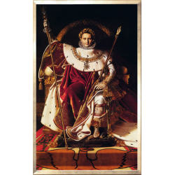 "Poster ""Napoleon on the Imperial Throne"""