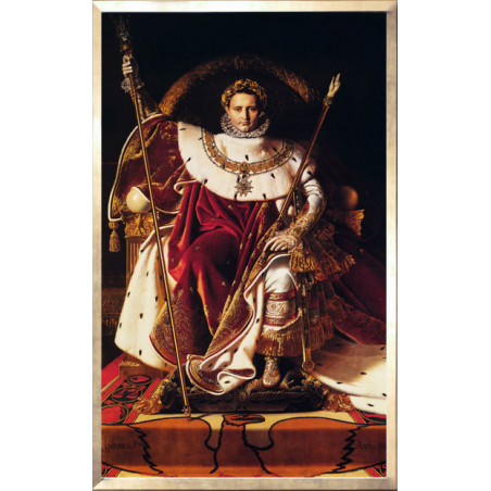 """Poster """"Napoleon on the Imperial Throne"""""""