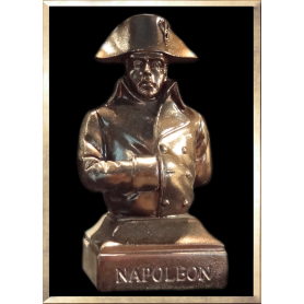 Napoleon in Campaign Bust (dark bronze-like)