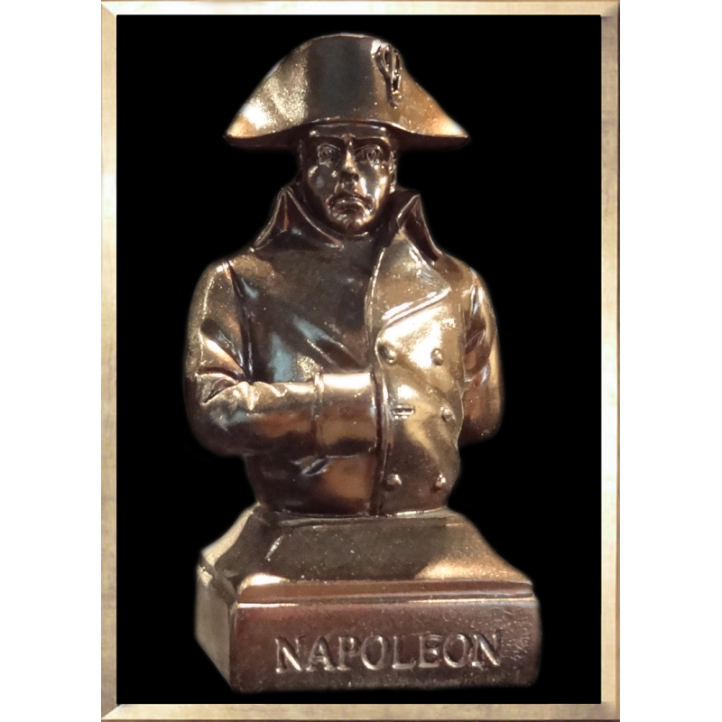 Napoleon in Campaign Bust
