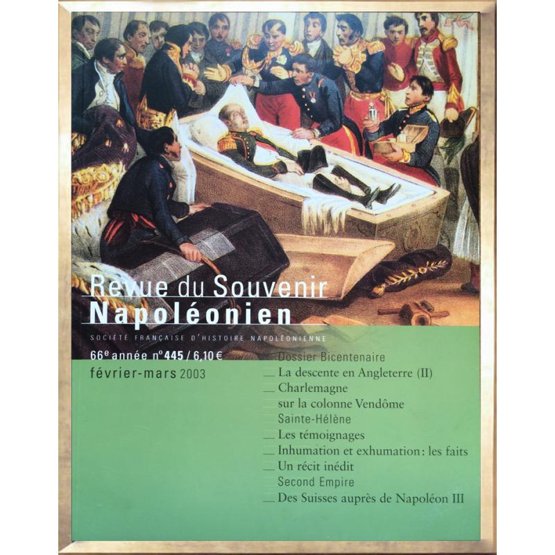 Revue du Souvenir Napoléonien n°445