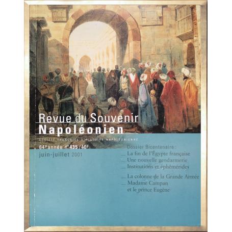 Revue du Souvenir Napoléonien n°435