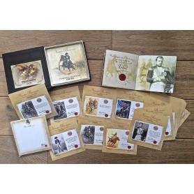 Coffret Gravures/Citations-Bloc-Notes-Livret «Napoléon et la Grande Armée»