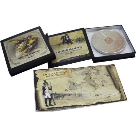 Coffret Boîtier CD - Livret «Napoléon et la Grande Armée»